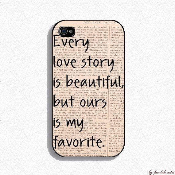 bydfagula in i m a little bit of everything : Iphone 4 Case  Our Story Iphone Case for Iphone 4 by fundakcases, $16.00