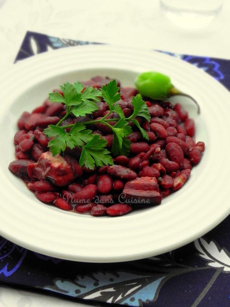 Créole comfort food... L'indémodable, l'innégalable comfort food aux Antilles : des haricots rouges bien fondants et savoureux, cuits en sauce. Nous sommes