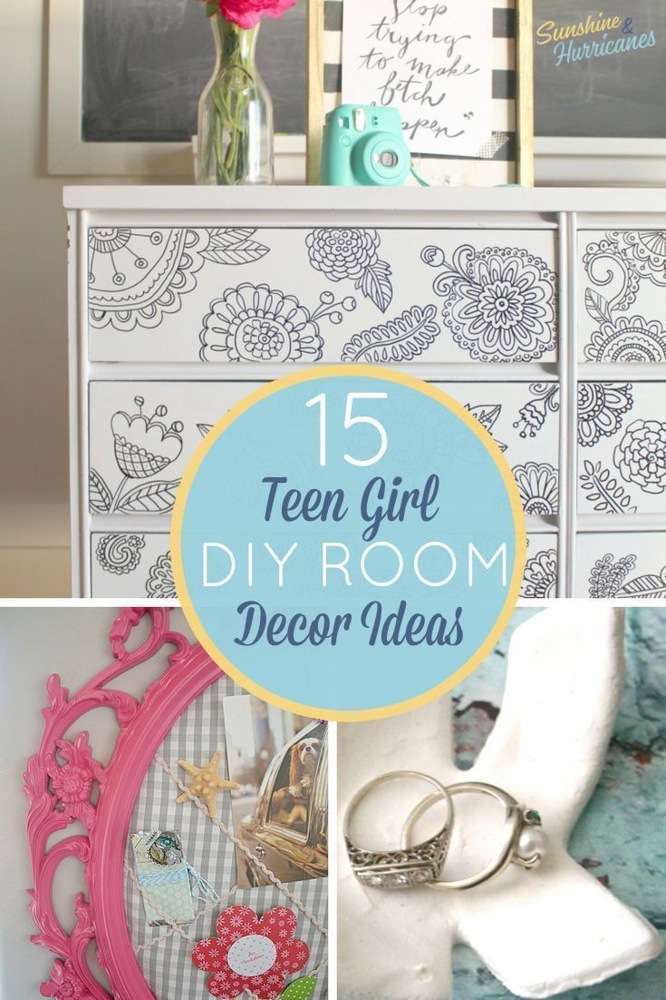 15 stylish diy projects for a teen girl s bedroom rh pinterest com