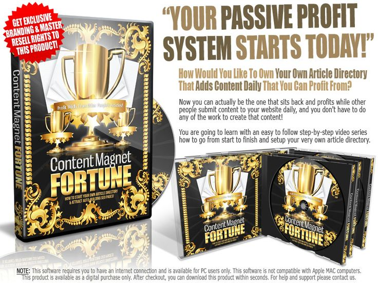 Content Magnet Fortune
