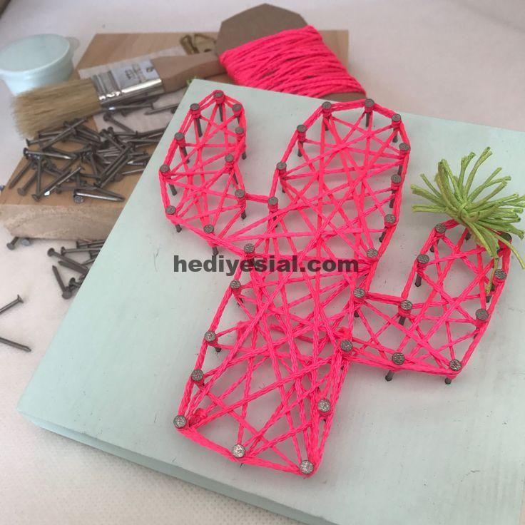 DIY String Art Kit / Bastelset / Geschenk für Erw…