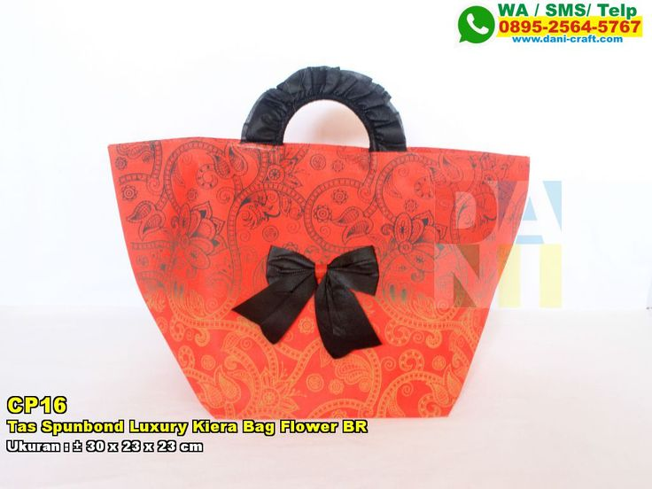 Tas Spunbond Luxury Kiera Bag Flower BR WA 0857-4384-2114 & 0819-0403-4240 BBM 5B47CC61 #tasunik #hargatas #TasSpunbond #JualSpunbond #souvenirUnik