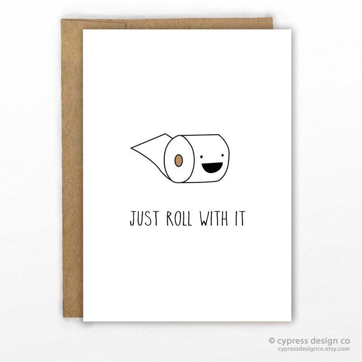 Cute Encouragement Pun Card