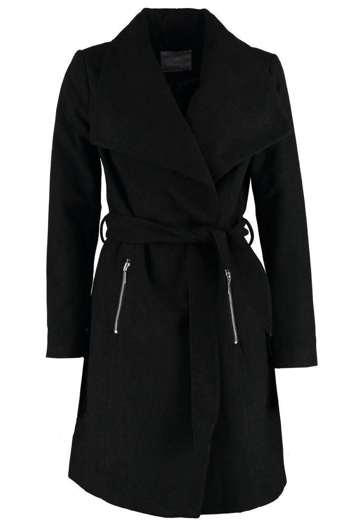 Vero Moda VMKATE Krótki płaszcz black - 309.00 zł