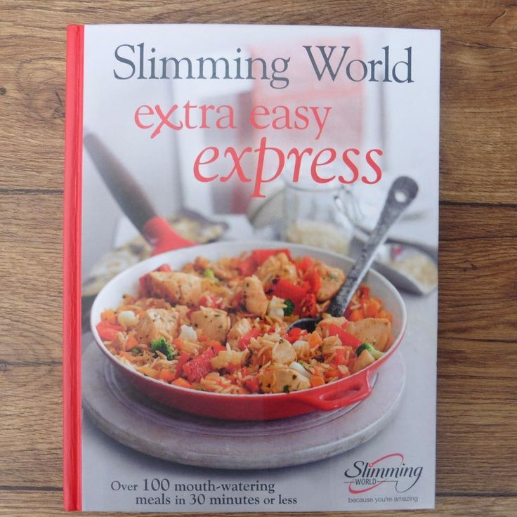 SLIMMING WORLD EXTRA EASY EXPRESS - RECIPES COOKERY COOK BOOK DIET RECIPE BOOK | eBay
