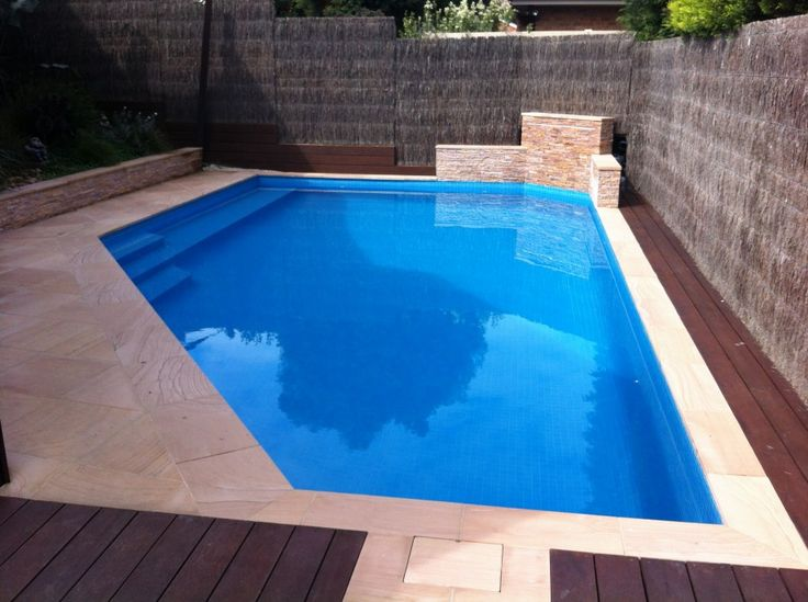 Intriguing Design And Shaped Applied In Swimming Pools Melbourne House Design Finished With