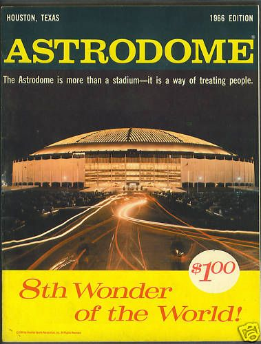 The Astrodome--My Dad took me here to watch baseball/football. When one of the Astros would make a home run there was a TERRIFIC animated screen that would light up. I heard they took that out--too bad!