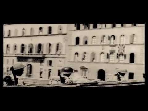 Truppe britanniche sono accolte a Firenze 1944