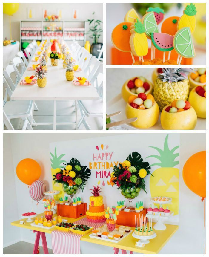 DIY tropical party! Summer birthday