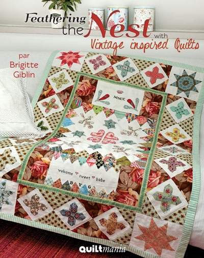 Feathering the nest http://www.quiltmania.com/