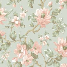 "Artistic Illusion Berkin Vine 33' x 20.5"" Floral 3D Embossed Wallpaper"