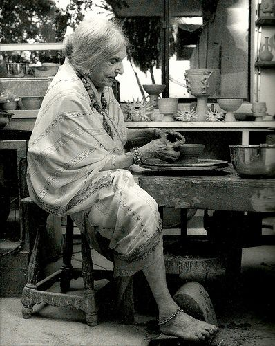 "Beatrice Wood:  When asked the secret of her longevity, she would simply offer ""art books, chocolates and young men""."