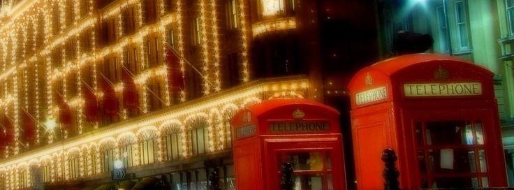 Facebookカバー写真:ロンドン:ハロッズ