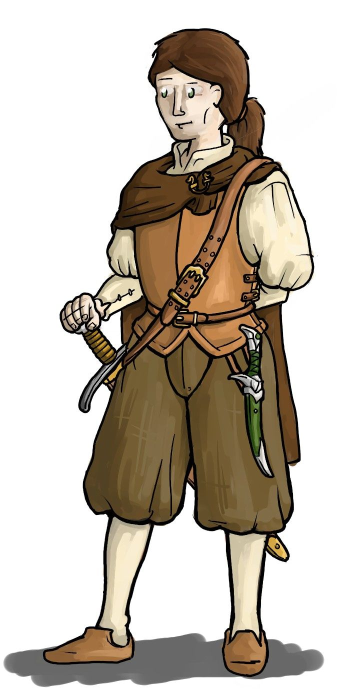 Tirin Elvendagger, character for a http://stage-rpg.com/ campaign.