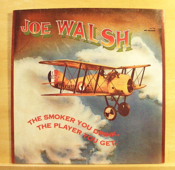 JOE WALSH The smoker you drink the Player you get - Vinyl LP Rocky Mountain Way