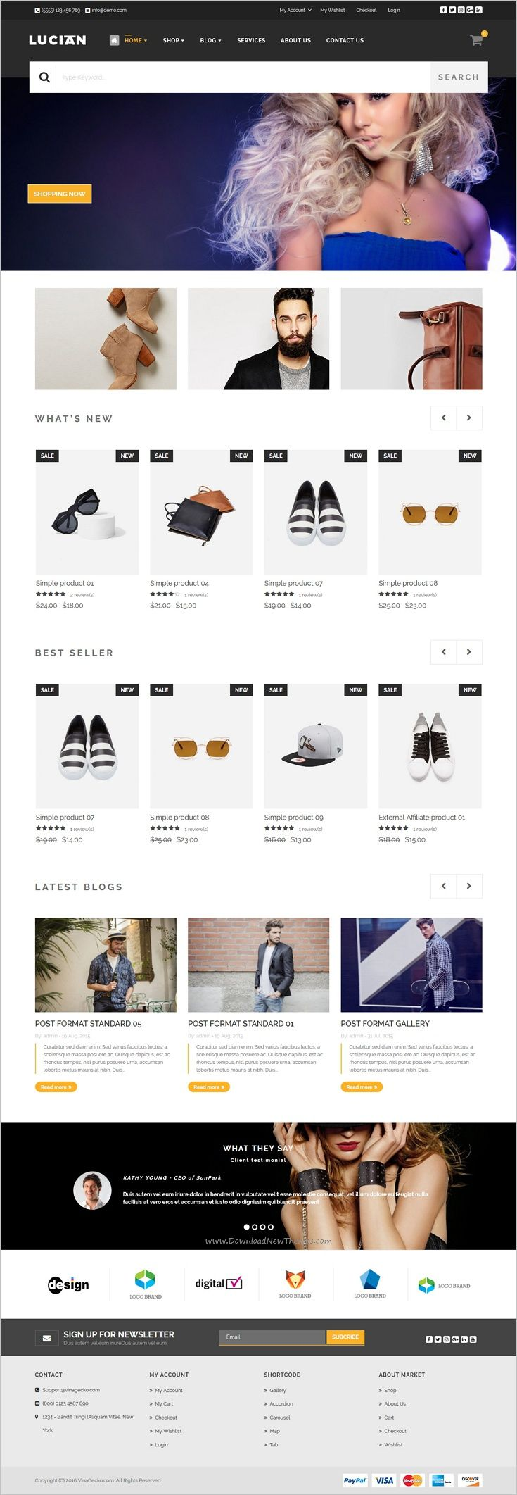 VG Lucian is a well-designed responsive @WooCommerce #WordPress #theme for stunning eCommerce #website with 8 unique homepage layouts download now➩ https://themeforest.net/item/vg-lucian-responsive-ecommerce-wordpress-theme/17042399?ref=Datasata