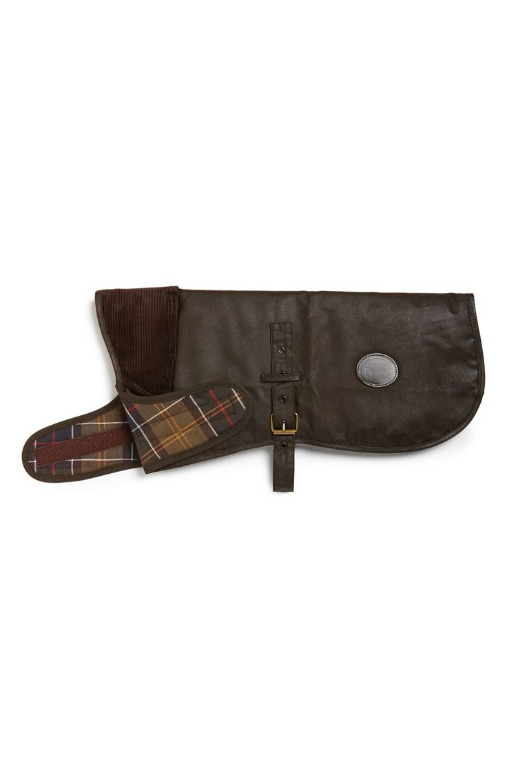 Barbour Waxed Canvas Dog Coat