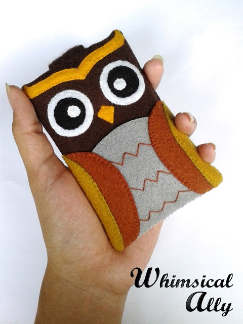 Athena Owl on hands