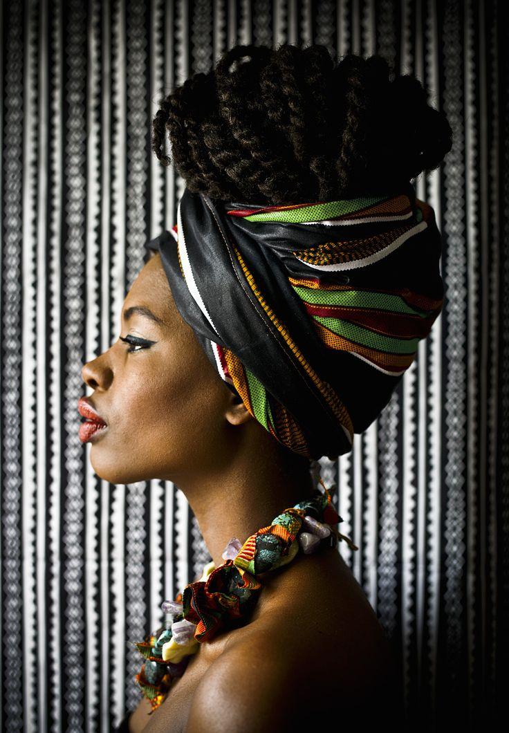 африканские головные фото такие