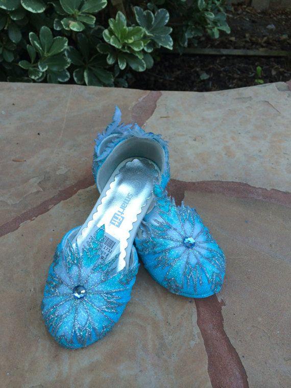 Children's Elsa Heel Shoes Inspired from by SplendidImaginations