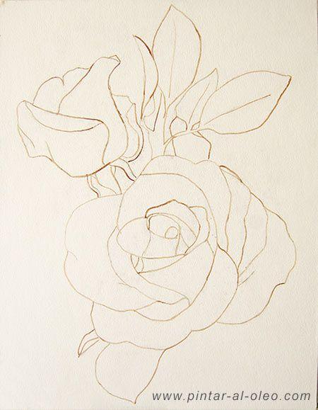 Cómo dibujar sin saber dibujar: ejemplo con una rosa