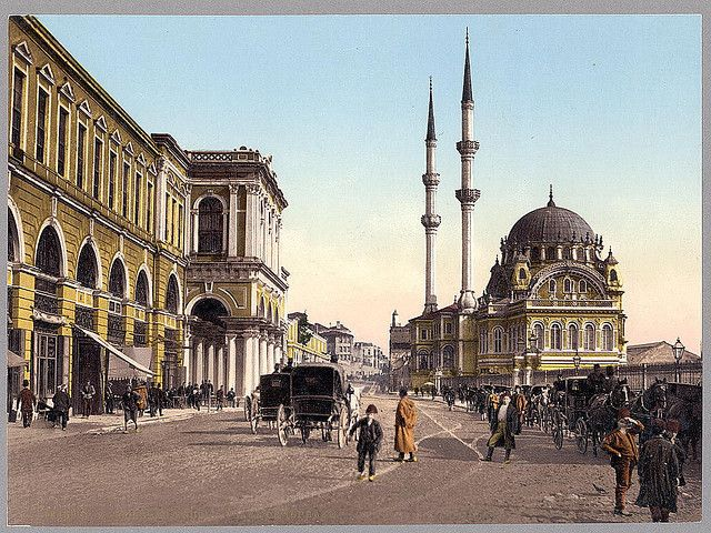 "Place de Tophane, Constantinople (LOC) via nevin kurtay ""Preserve, reserve, serve; the life and times of istanbul at the heart of historical center."" www.armadaistanbul.com www.armadaistanbulculture.com"