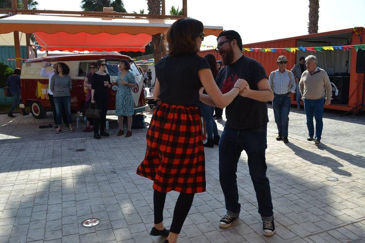 Swing dancing at Rin Ran Market - El Palmar, Murcia