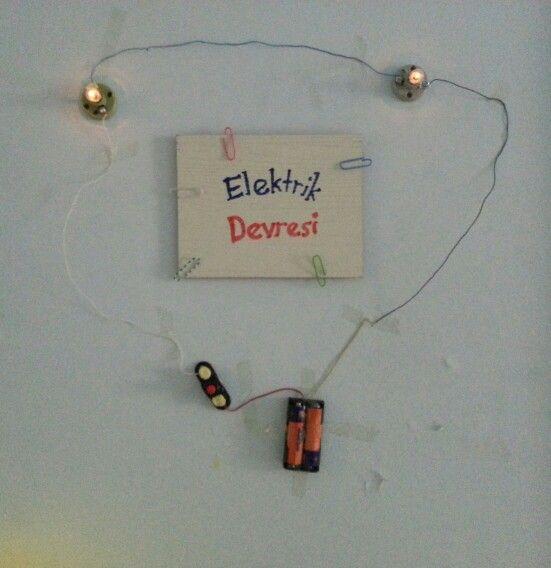 Devrelerin gücü adına :)  Elektrik devresi 4.sınıf