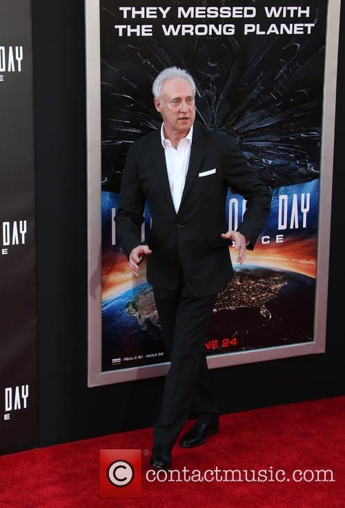 Brent Spiner at the premier of Independence Day : Resurgence.