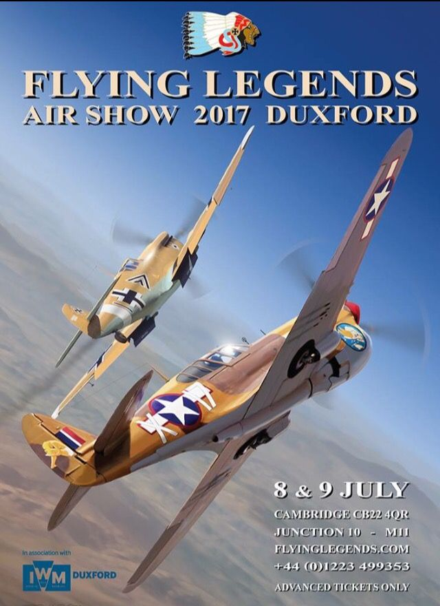 The Flying Legends 2017 Poster