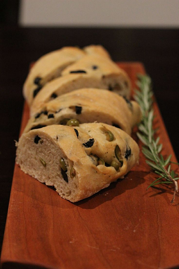 Pain Brie (Olive Bread) 14/2