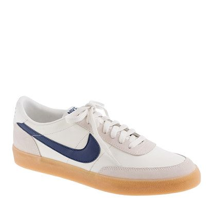 I'm kinda loving these...they remind me of my dad's 80s sneakers. Nike® for J.Crew Killshot 2 sneakers