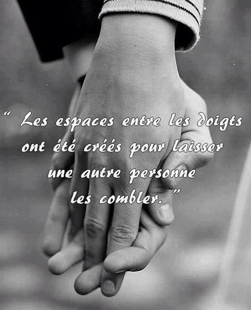 the spaces between your fingers were created to let a person fill~ authre
