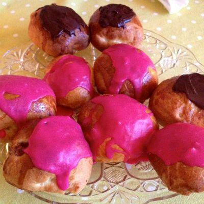 Lækre fastelavnsboller med creme og glasur