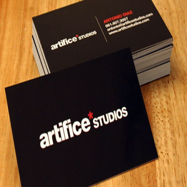 design eye catching professional double side business card