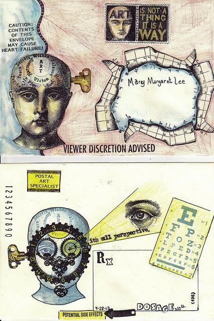 1996 Met Museum Kunst Humorous Ghana 2 Sheets Of 8 Briefmarken 2 S