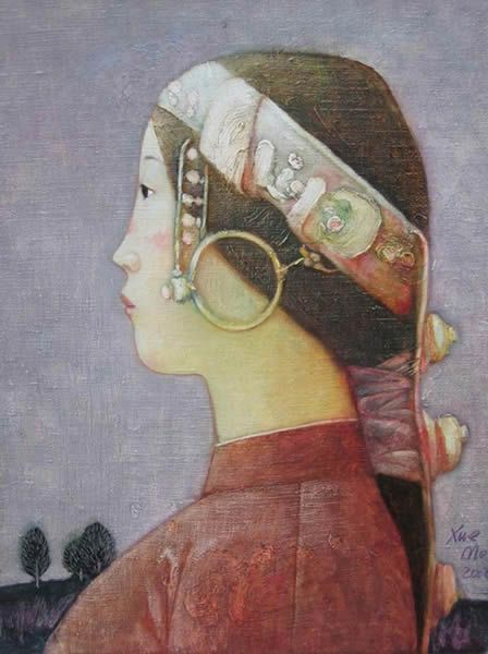 2002 SILENT BEAUTY, Xue Mo (薛墨; b1966, Inner Mongolia, China; since 2011 based in Canada)