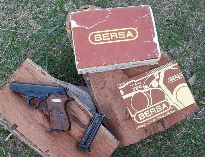 #Bersa22DA Doble acción/Double action