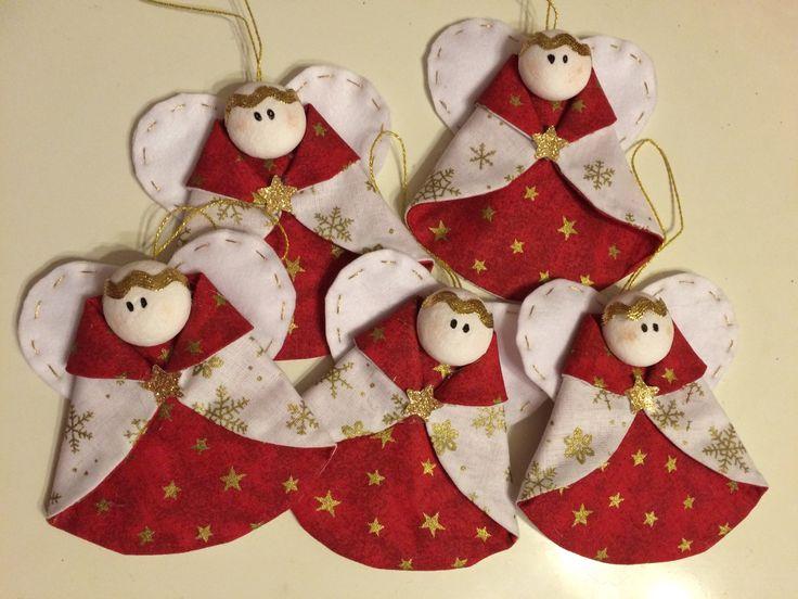 Andílci na vánoční stromeček