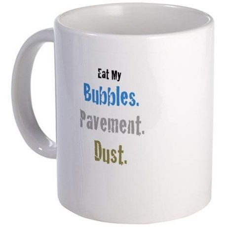 Triathlon humor Mug on CafePress.com