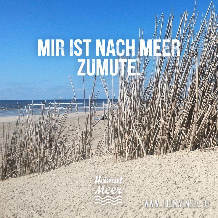 Mir ist nach Meer! >>