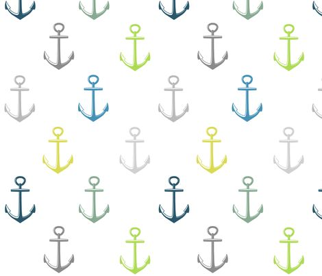 anchor_-_multi fabric by e-lkh on Spoonflower - custom fabric