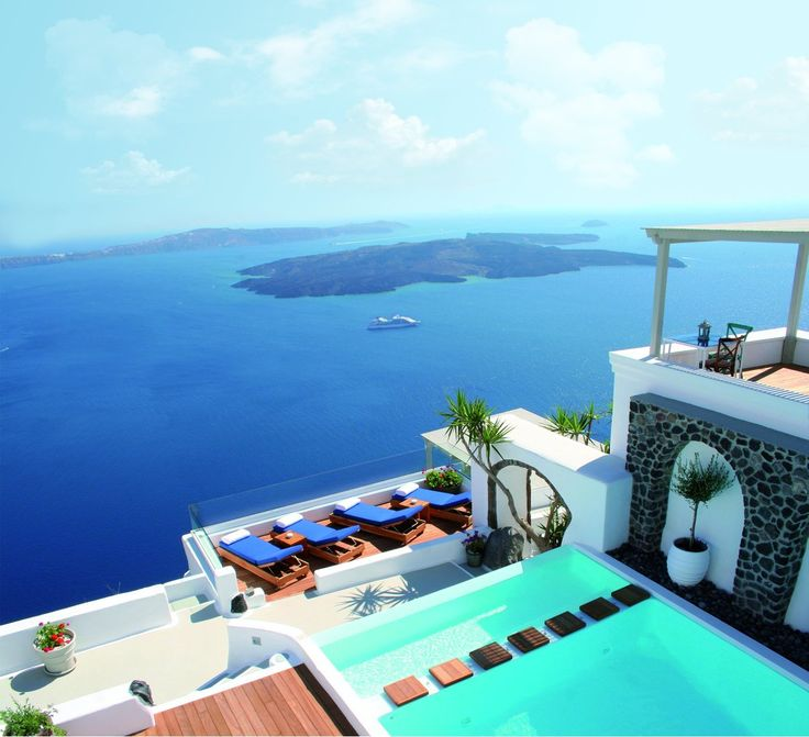 A truly timeless experience awaits you at Iconic Santorini, a boutique cave hotel...