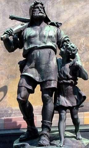 Altdorf (Kanton Uri) - Statue Wilhelm Tell