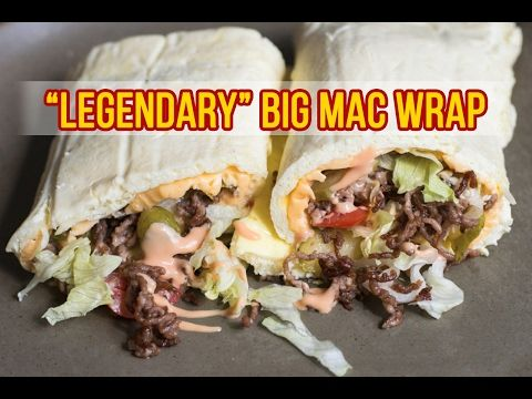 Low Carb Big Mac Wrap Rezept - Extrem Lecker und Low Carb!