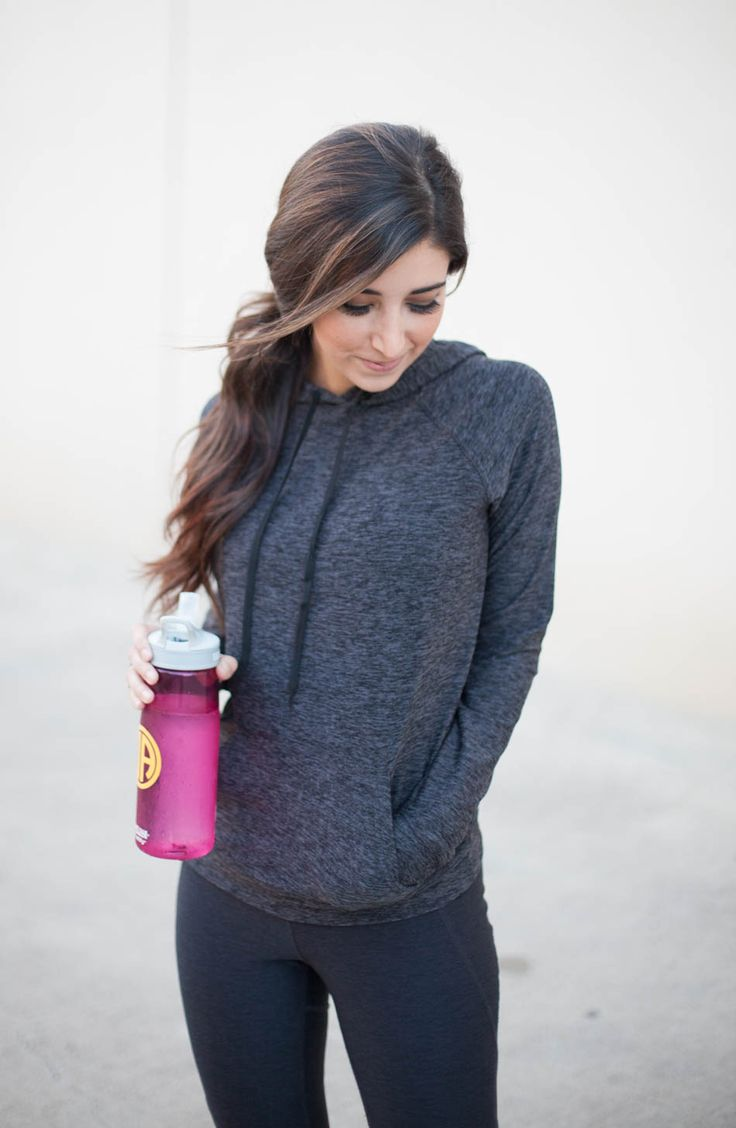 The perfect workout hoodie for Fall