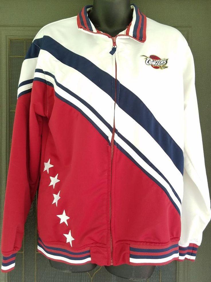 Cleveland Cavaliers Track Jacket Zip Up Lightweight Throwback Large Unisex NBA | Sports Mem, Cards & Fan Shop, Fan Apparel & Souvenirs, Basketball-NBA | eBay!