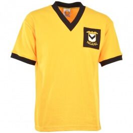NEWPORT County 1959-1963 Retro Football Shirt Newport County, Orginaly formed as The Newport  Monmouth County Association Football Club in 1912. Newport have had one of the rockiest club history in Welsh football, having being promoted and relag http://www.MightGet.com/may-2017-1/newport-county-1959-1963-retro-football-shirt.asp