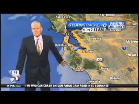 Earthquake Occurs During Weather Forecast