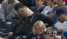 Sleeping Yankees Fan Sues ESPN for $10 Million for Being Mean to Him on Television | Bro Code, Hot Girls, Funny Stories and Videos, Frat Music, College Stories, Sports News and Videos - BroBible.com